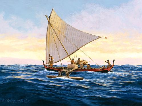 Waʻa Serik of Caroline Islands