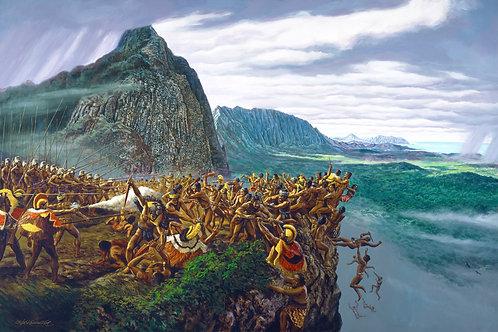 Battle at Nuʻuanu Pali