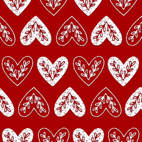 Red Folk Hearts