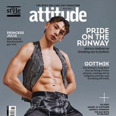 Attitude Magazine, April Collections