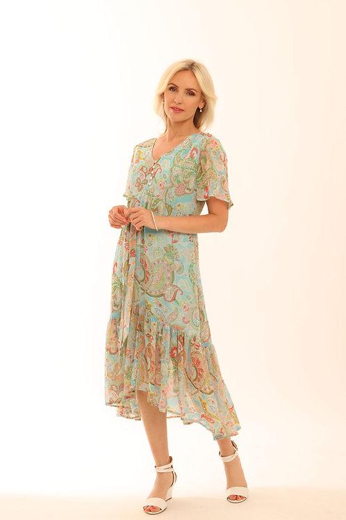 Pomodoro Floaty Dress 72018