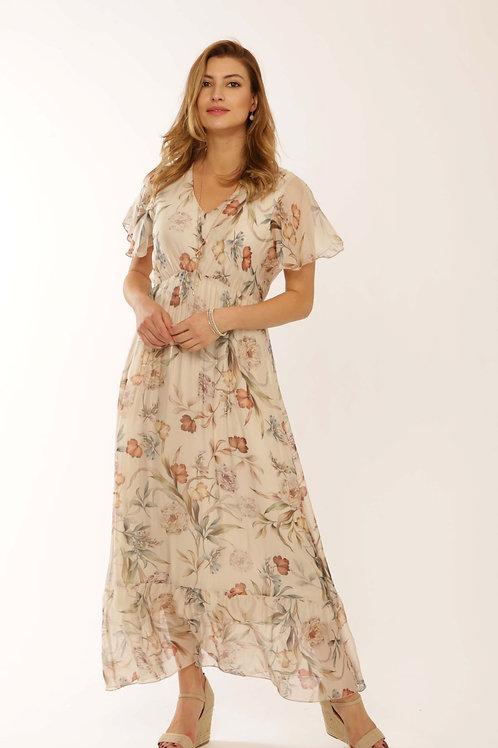 Pomodoro Silk Dress 22110