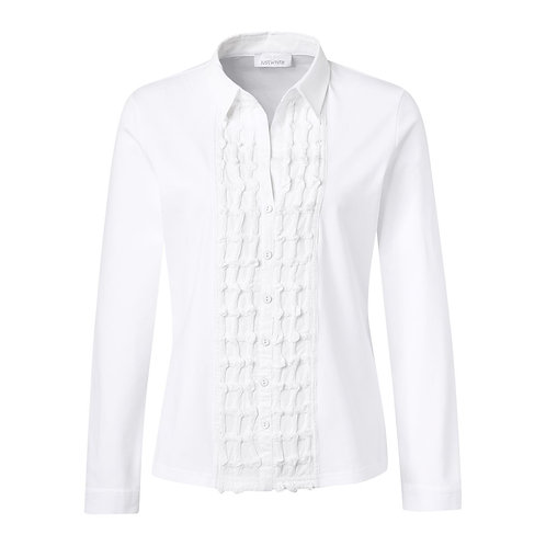 Just White Blouse 43409