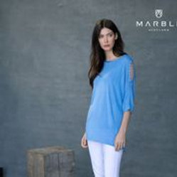 Marble Fine Knit Top 6092