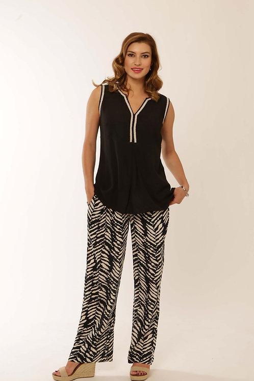 Pomodoro Print Trousers 72103