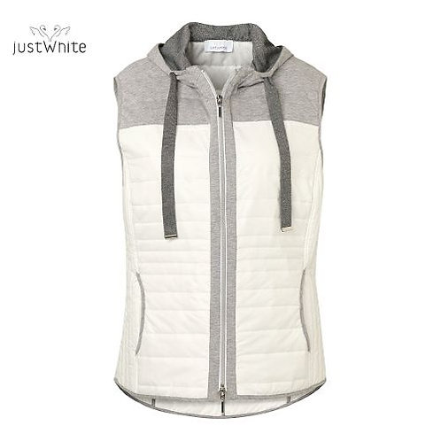 Just White Gilet 43743