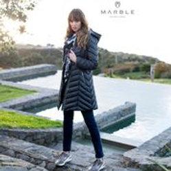 Marble Puffa Coat 5948
