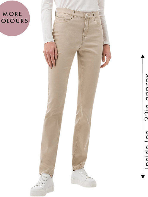 Mary Full Length Chino Type Soft Touch Trouser