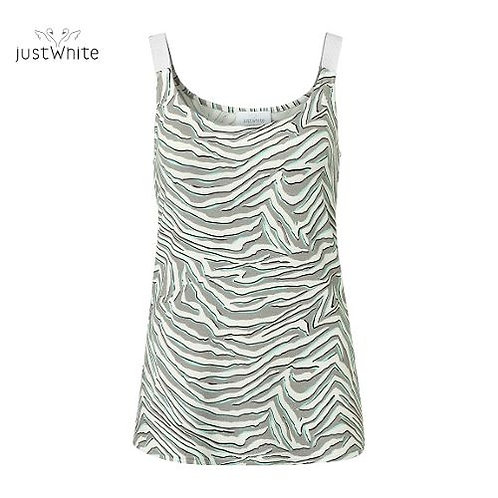 Just White Cami 43851