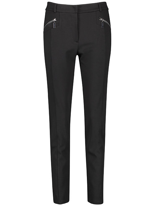 Taifun Black Jersey Trousers 621002