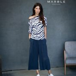 Marble Fine Knit Top 6051