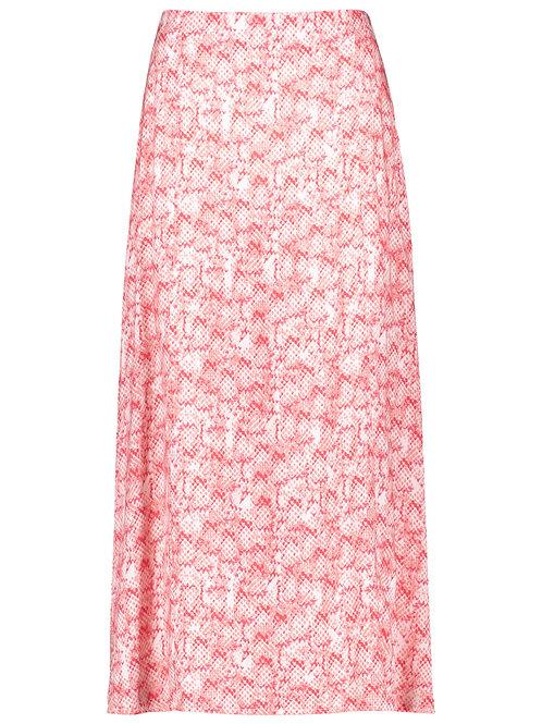 Taifun Coral Snake Print Skirt 510006