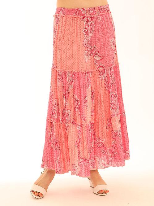 Pomodoro Crinkle Skirt 62017