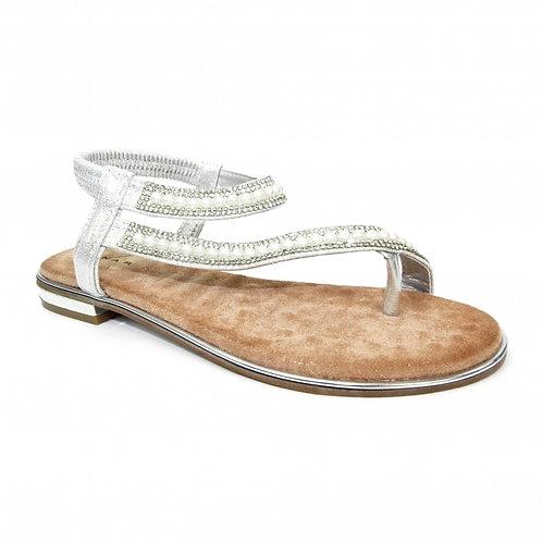 Artisan White Sandal
