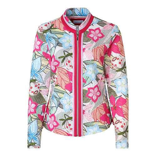 Just White Zip Front Jacket 42590