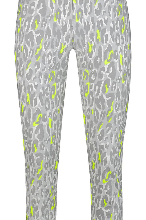 Grey Lime Animal Print Bella