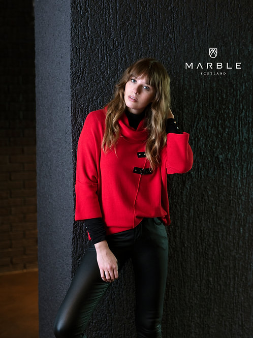 Marble Over Jumper 5868