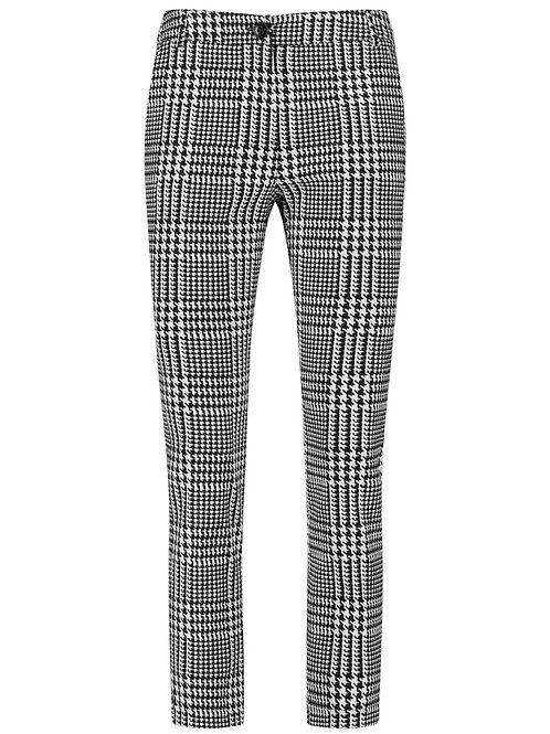 Taifun Check Trousers 620063