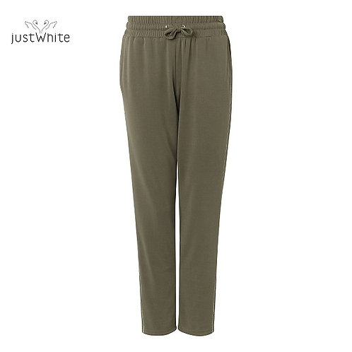Just White Leisure Trouser