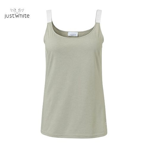 Just White Cami 43773