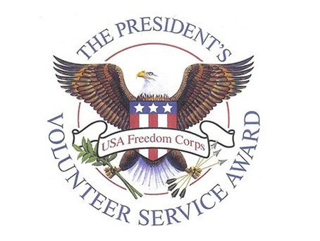 We are the certified organization for presidential recognition awards