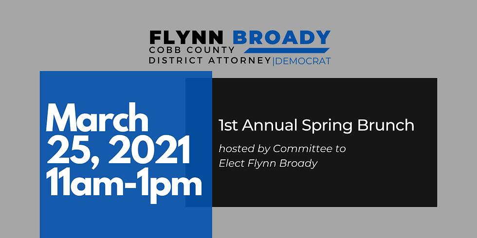 DA Broady's First Annual Spring Brunch
