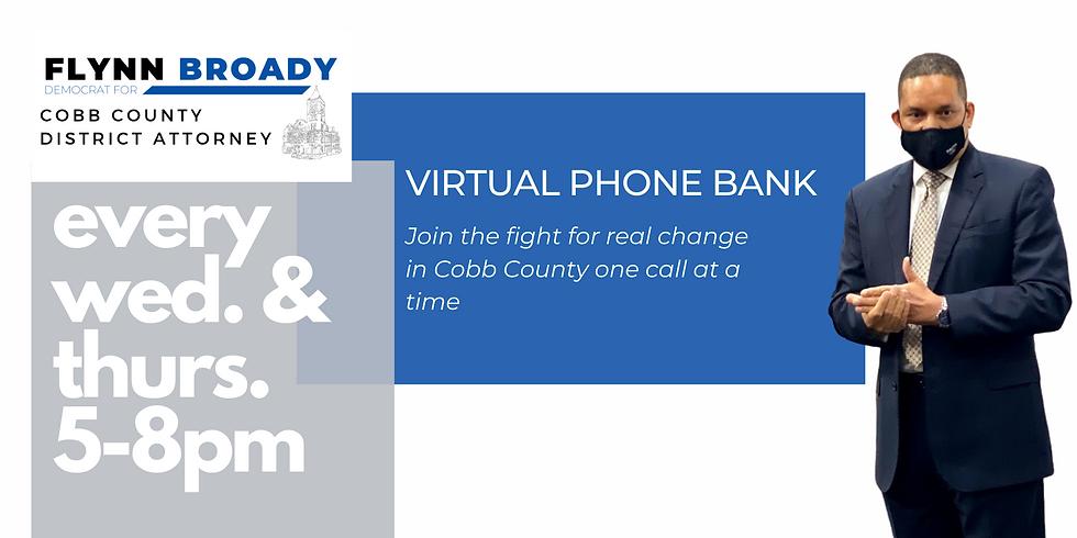 Team Broady Virtual Phone Bank