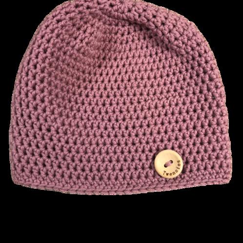 Mutsje Merino wol  | Rose Pink |  Twensies