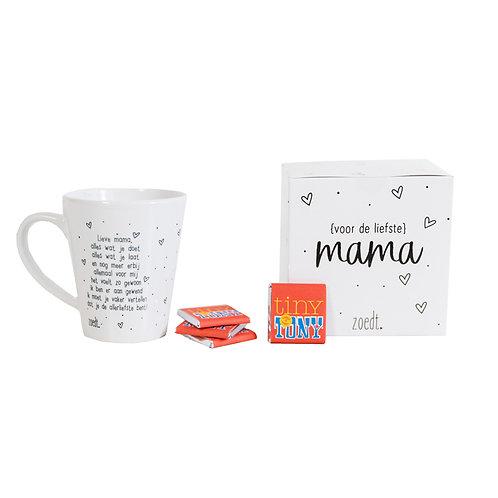 Cadeaupakket | mok voor de liefste mama  en Tony's | Zoedt