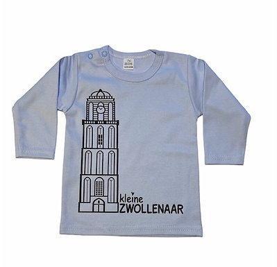 Shirt I Peperbus | Licht blauw | MarGoCadeau