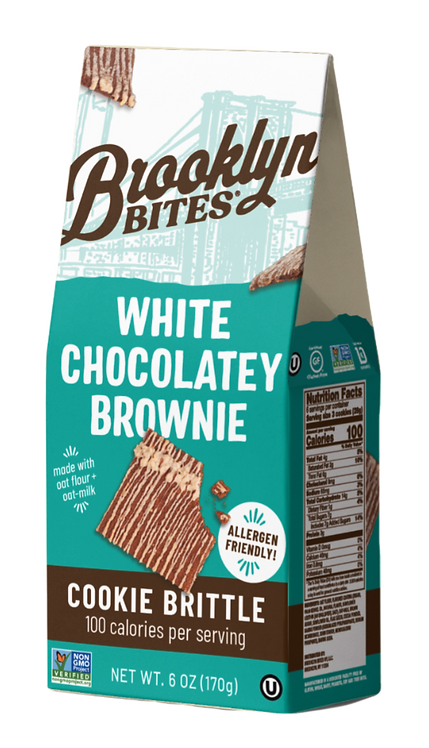 WHITE CHOCOLATEY BROWNIE