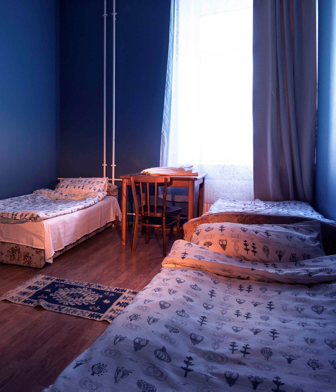 1-Номер с 2 односпальными кроватями, общ