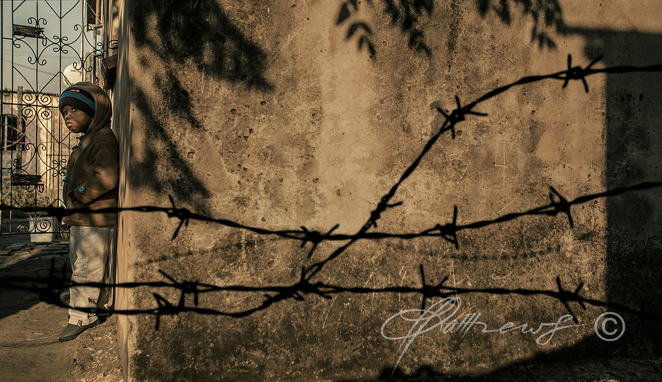 'Barbed Wire' TY13 - Limited Edition Photographic Print