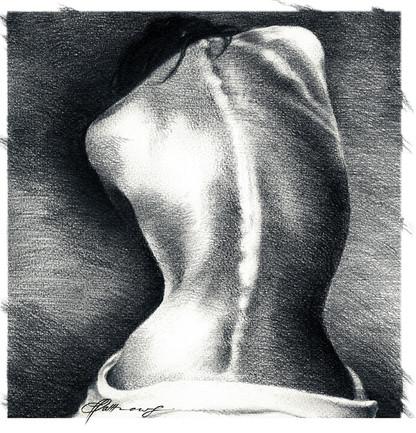 Go Back-charcoal on paper-60x60.jpg