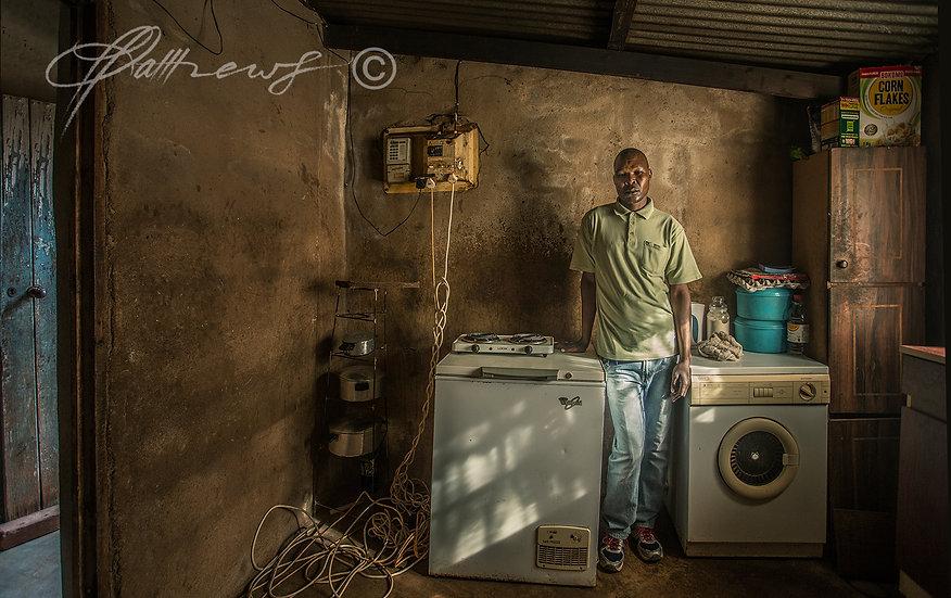 'Kwazi's Kitchen' TY12 - Limited Edition Photographic Print