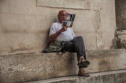 man-reading