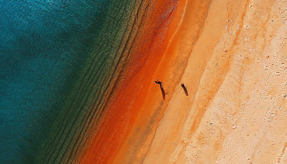 The Red Beach