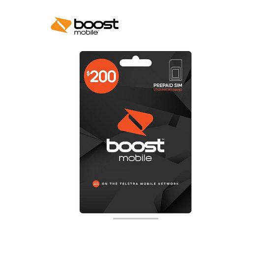 Boost $200 Pre-Paid SIM Starter Kit