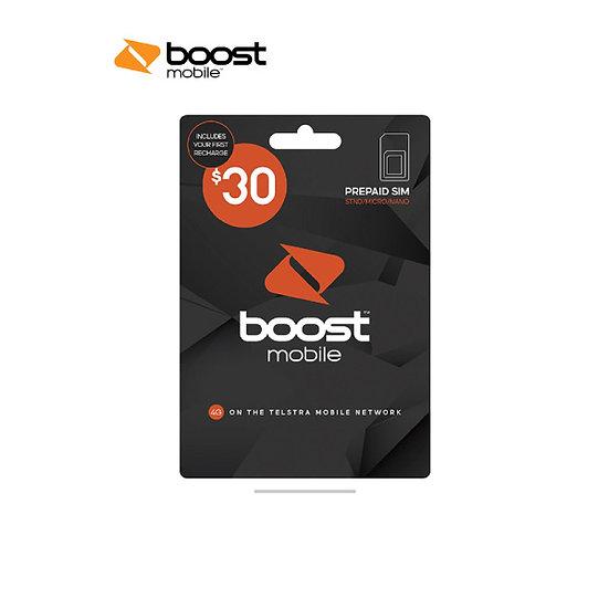 Boost $30 Pre-Paid SIM Starter Kit