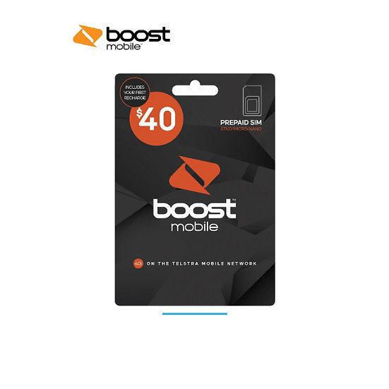 Boost $40 Pre-Paid SIM Starter Kit
