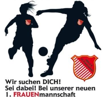 Wir suchen Dich....  Frauen mit Spass am Fußball!