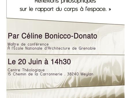 Conférence / Nouvelle date
