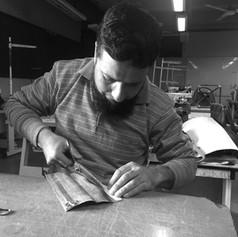 Javaid Ahmad Wani, Leather