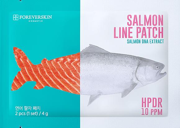 Salmon Line Patch