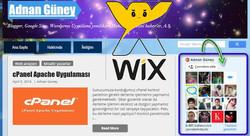 Wix Wix Sitenize Google Plus İzleyi