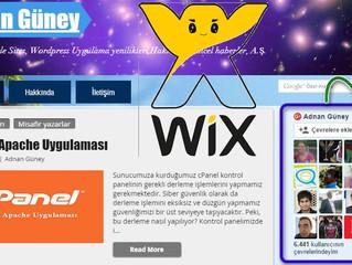 Wix Sitenize Google Plus İzleyiciler Eklentisi Ekleme