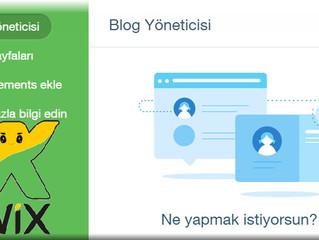 Wix Sitenizde Yeni Yazı Sayfası-Posts Oluşturma