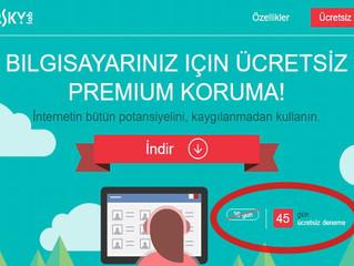 Kaspersky Internet Security 45 Gün Bilgisayarını Güvende Tut