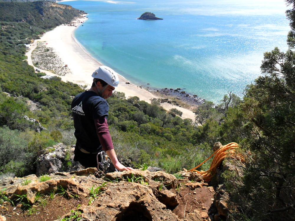 Escalada - Fenda da Arrábida, sector Pirata | Discover The Nature