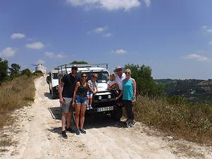 Passeio de Jipe na Serra da Arrábida